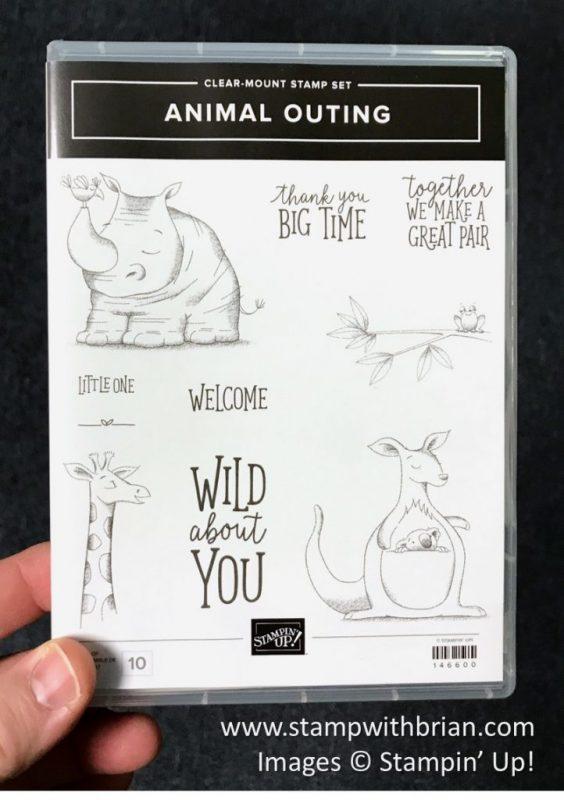 Animal Outing stamp set, Stampin' Up!