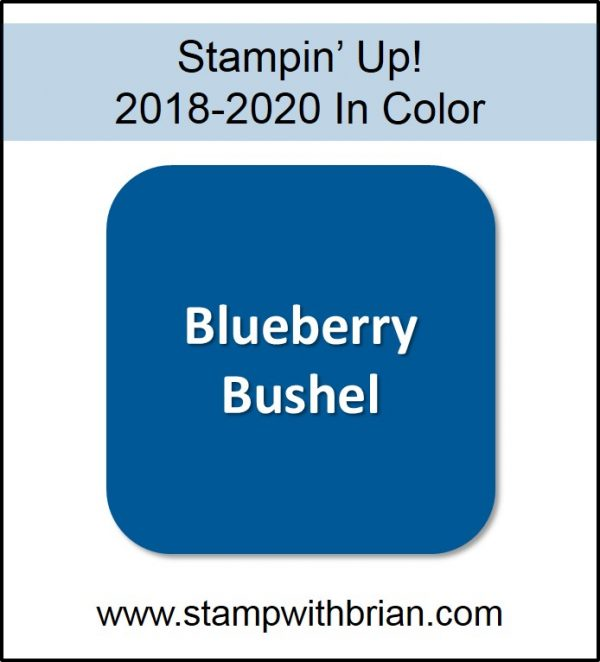 Blueberry Bushel, Stampin' Up! 2018-2020 In Color