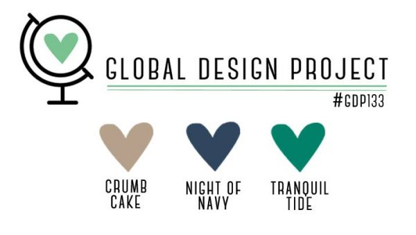 Stampin' Up! Color Inspiration: Crumb Cake, Night of Navy, Tranquil Tide