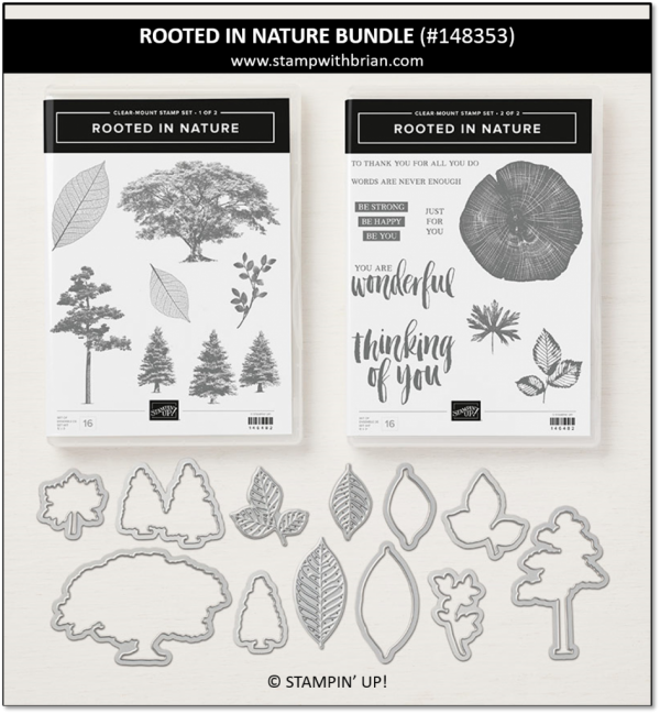 Rooted in Nature Bundle, Stampin' Up!, 148353