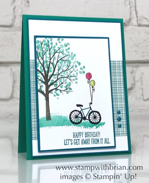 Sheltering Tree, Glamper Greetings, Stampin' Up!, Brian King