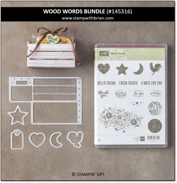 Wood Words Bundle, Stampin' Up!, 145316