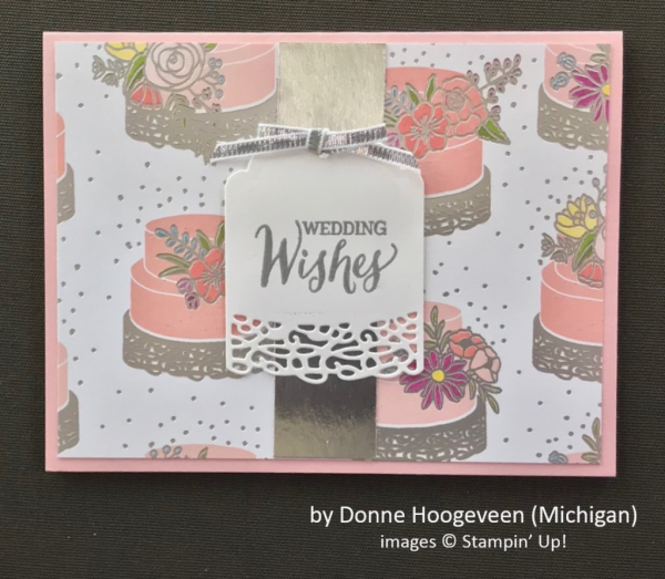 by Donne Hoogeveen, Stampin' Up!, Spring One-for-One Card Swap
