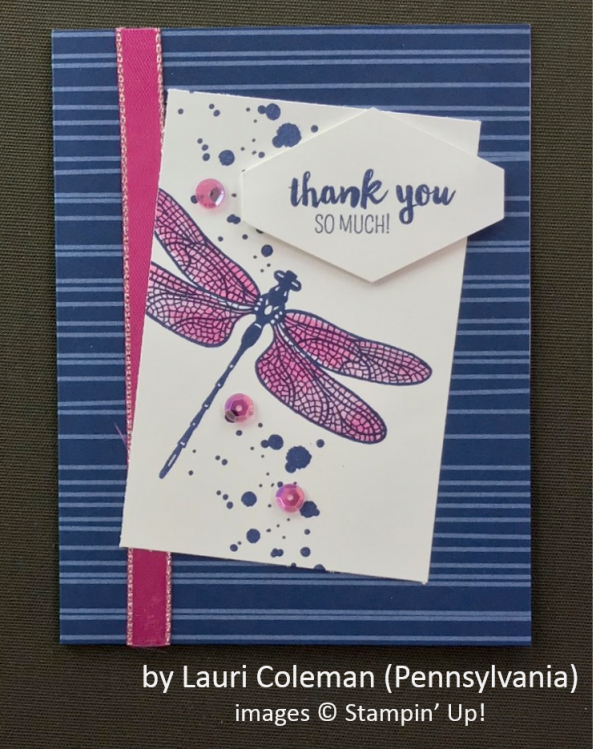 by Lauri Coleman, Stampin' Up!, Spring One-for-One Card Swap