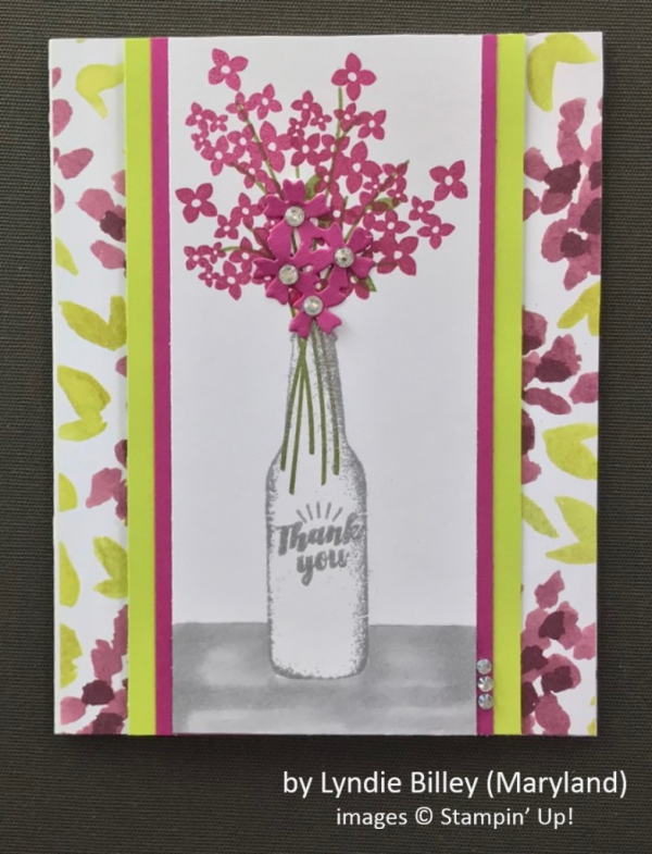 by Lyndie Billey, Stampin' Up!, Spring One-for-One Card Swap