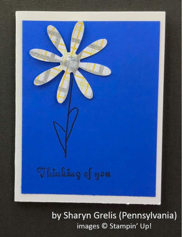 by Sheryn Grelis, Stampin' Up!, Spring One-for-One Card Swap