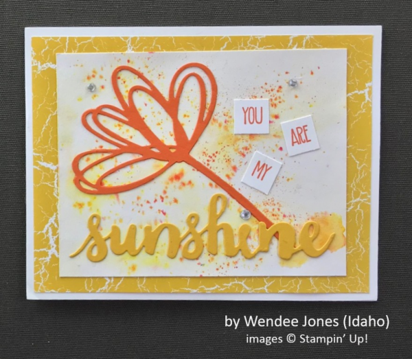 by Wendee Jones, Stampin' Up!, Spring One-for-One Swap