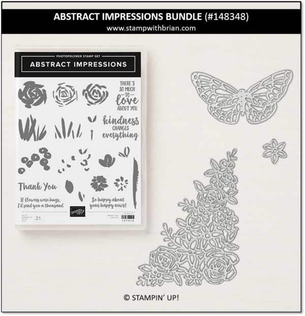 Abstract Impressions Bundle, Stampin' Up! 148348