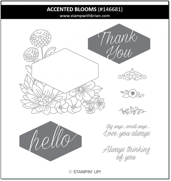 Accented Blooms, Stampin' Up!, 146681