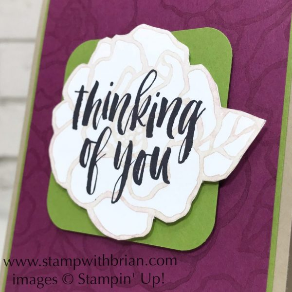 Beautiful Day, Rooted in Nature, Stampin' Up!, Brian King