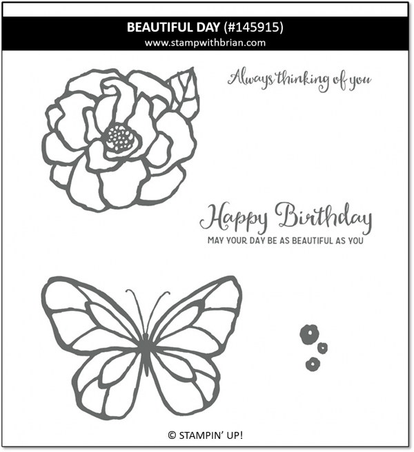 Beautiful Day, Stampin' Up!, 145915