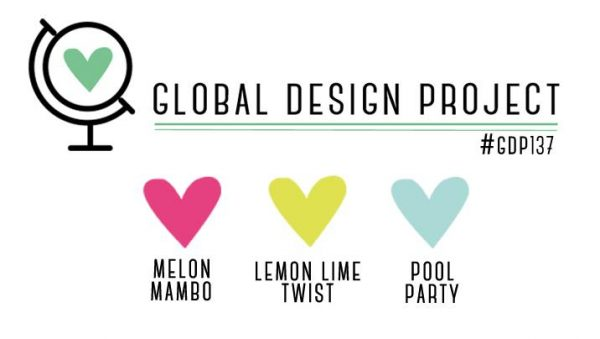 Stampin' Up! Color Inspiration: Melon Mambo, Lemon Lime Twist, Pool Party