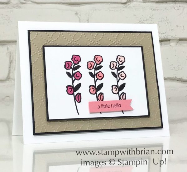 Love What You Do, Itty Bitty Greetings, Stampin' Up!, Brian King, FabFri138