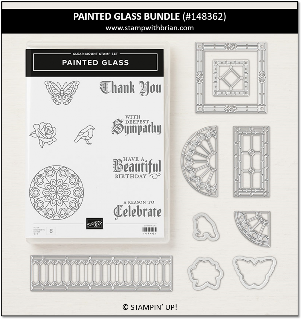 Painted Glass Bundle, Stampin' Up! 148362