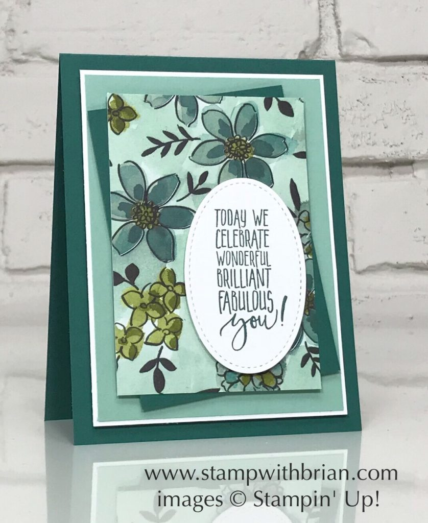Picture Perfect Birthday, Share What You Love Specialty Designer Series Paper, Stampin' Up!, Brian King, Mother's Day Card