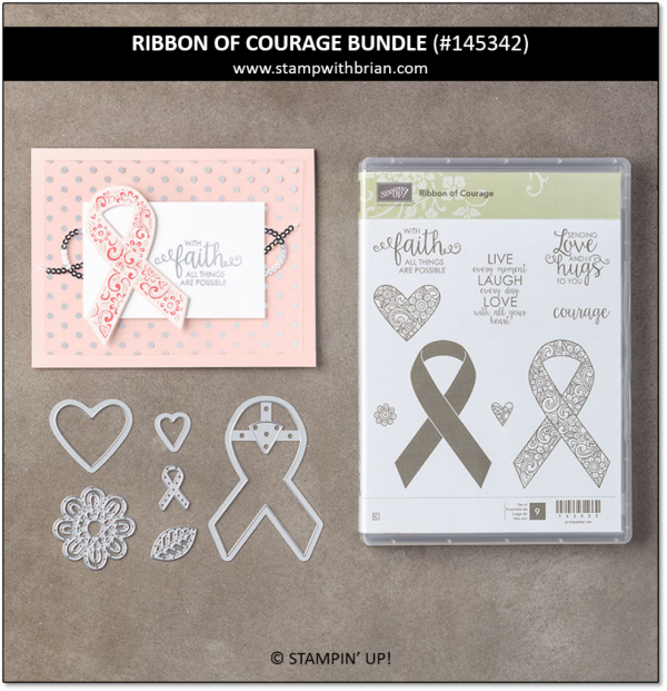 Ribbon of Courage Bundle, Stampin' Up! 145342