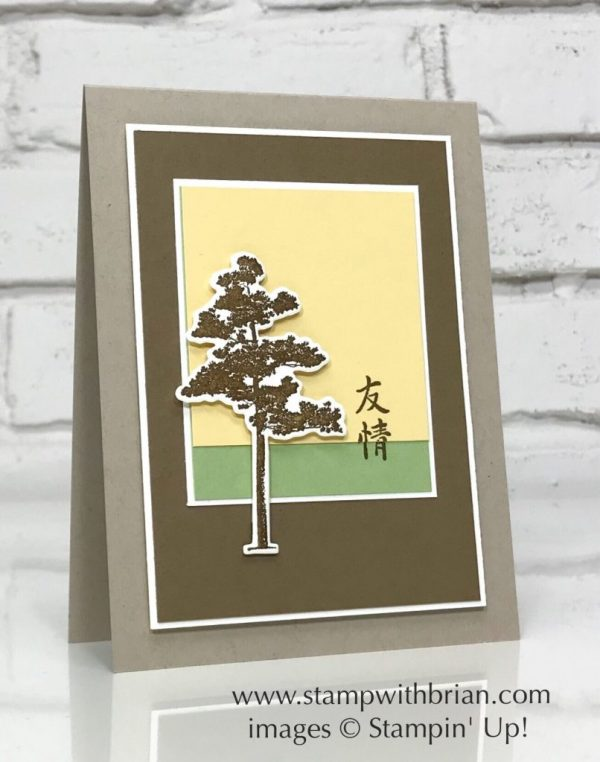 Rooted in Nature, Artistically Asian, Stampin' Up!, Brian King