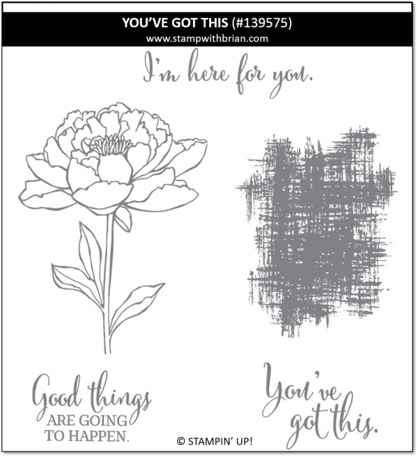 You've Got This, Stampin' Up!, 139575