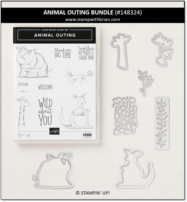 Animal Outing Bundle, Stampin' Up!, 148324