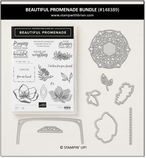 Beautiful Promenade Bundle, Stampin' Up!, 148389