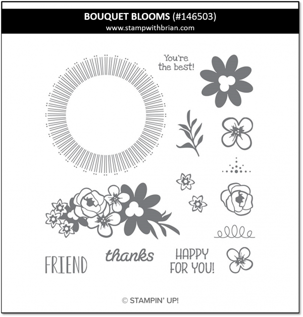 Bouquet Blooms, Stampin 'Up!, 146503