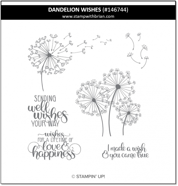 Dandelion Wishes, Stampin' Up!, 146744