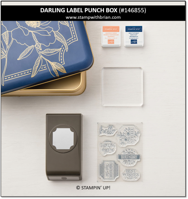 Darling Label Punch Box, Stampin' Up!, 146855