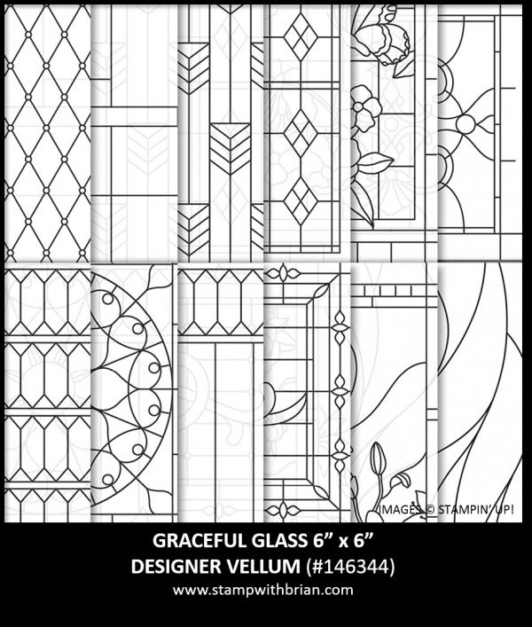 Graceful Glass Designer Vellum, Stampin' Up!, 146344