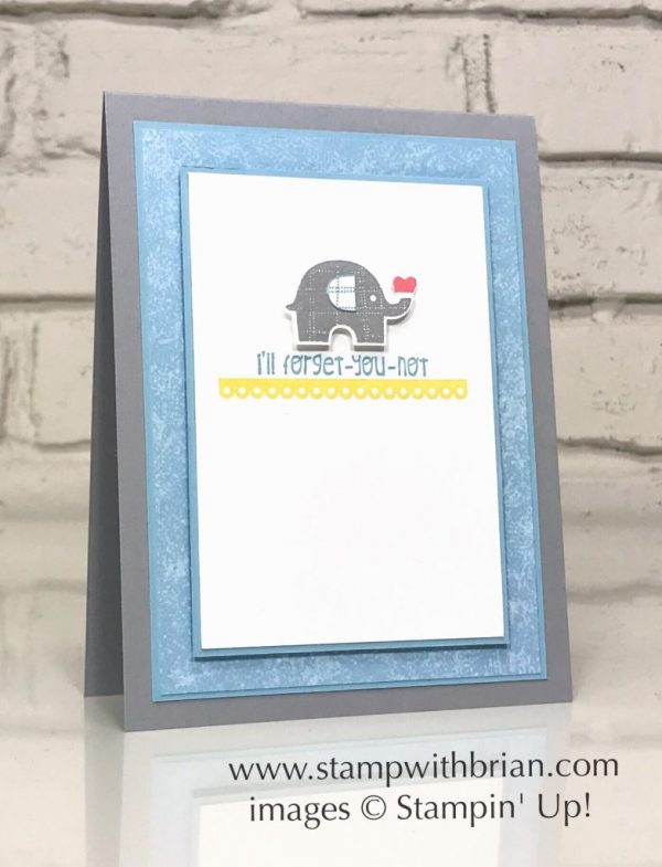 Little Elephant Bundle, Detailed with Love, Stampin' Up!, Brian King, CTS277
