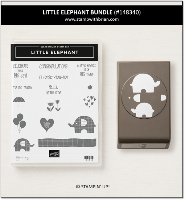 Little Elephant Bundle, Stampin' Up!, 148340