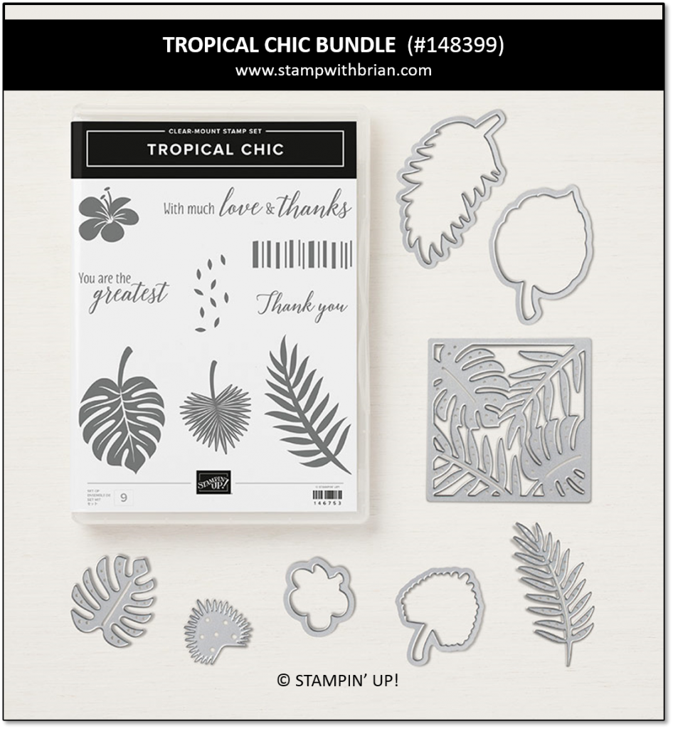 Tropical Chic Bundle, Stampin' Up! 148399