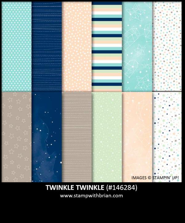 Twinkle Twinkle Designer Series Paper, Stampin' Up!, 146284
