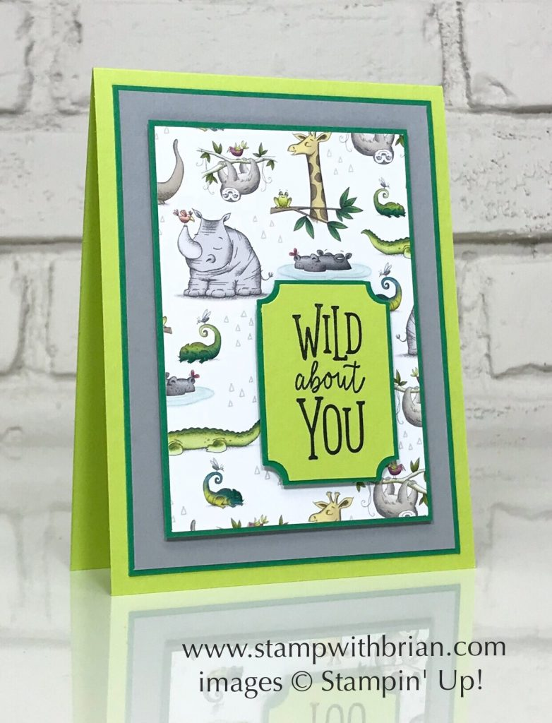 Animal Outing, Everyday Label Punch, Stampin' Up!, Brian King