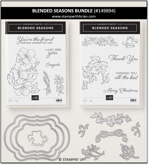 Blended Seasons Bundle, Stampin' Up! 149894