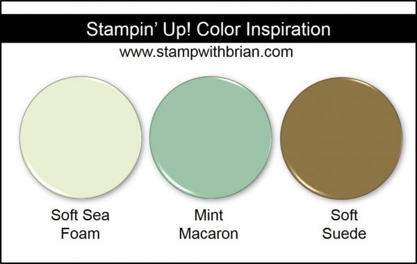 Stampin' Up! Color Inspiration: Soft Sea Foam, Mint Macaron, Soft Suede