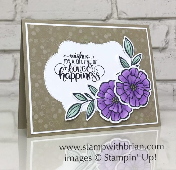 Falling Flowers, Dandelion Wishes, Stampin' Up!, Brian King