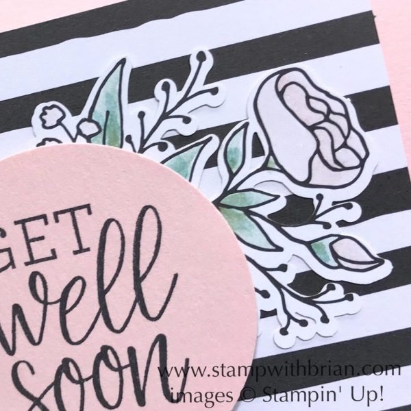 Healing Hugs, Lots of Happy Card Kit, Stampin' Up!, Brian King, get well card