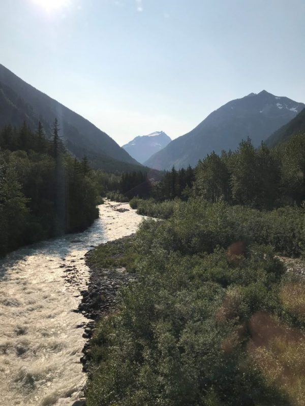 Skagway - lovely river, Brian