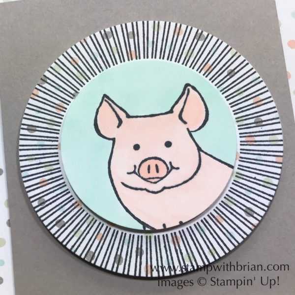 This Little Piggy, Bouquet Blooms, Another Wonderful Year, Stampin' Up!, Brian King