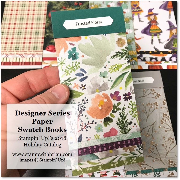 2018 Holiday Catalog Product Shares & Designer Series Paper