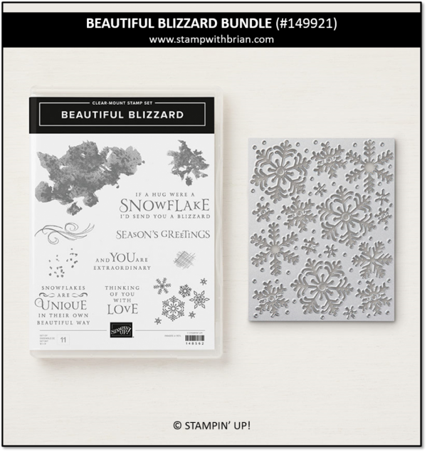 Beautiful Blizzard Bundle, Stampin' Up! 149921