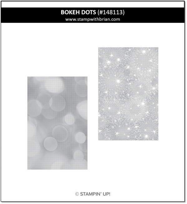 Bokeh Dots, Stampin' Up! 148113