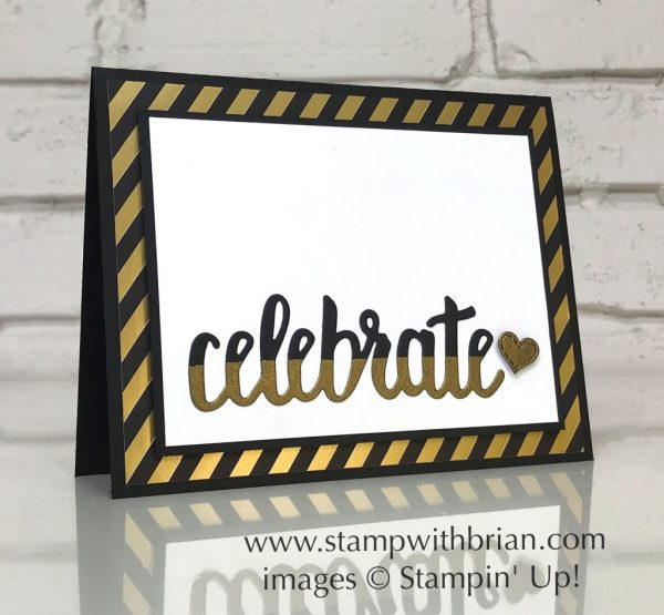 Celebrate You Thinlits Dies, Stitched Labels Framelits Dies, Stampin' Up!, Brian King