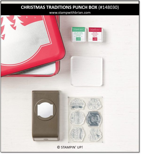 Christmas Traditions Punch Box, Stampin' Up! 148030