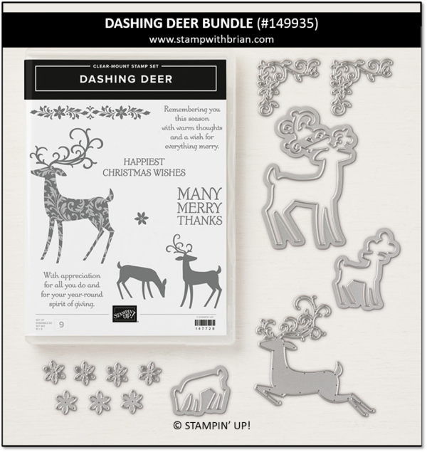Dashing Deer Bundle, Stampin' Up! 149935