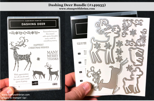 Dashing Deer Bundle, Stampin' Up!, 149935