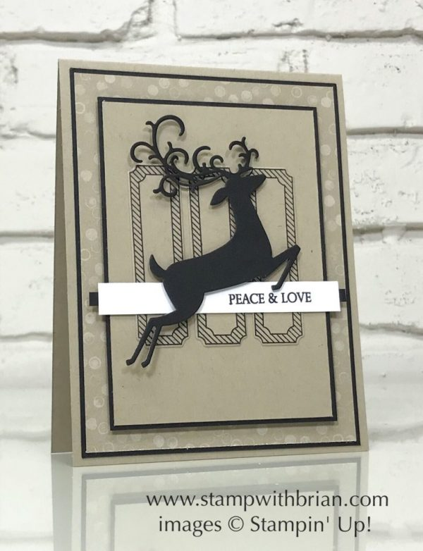 Dashing Deer, Merry Christmas to All, Stampin' Up!, Brian King, GDP150
