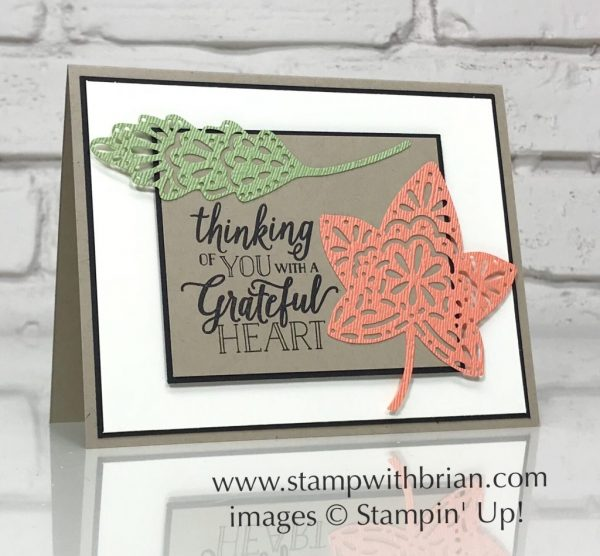 Falling for Leaves, Stampin' Up!, Brian King, CTS285