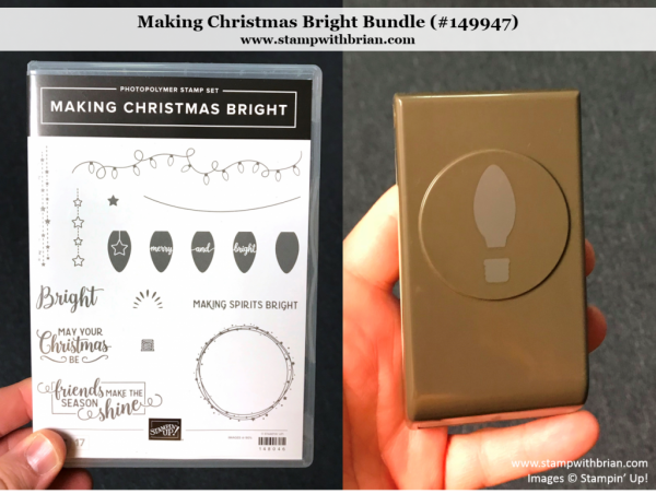 Making Christmas Bright Bundle, Stampin' Up!, 149947