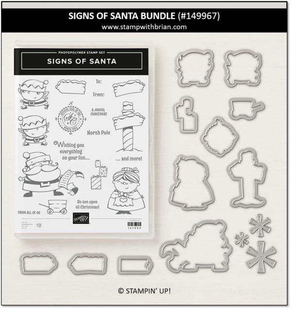 Signs of Santa Bundle, Stampin' Up!, 149967